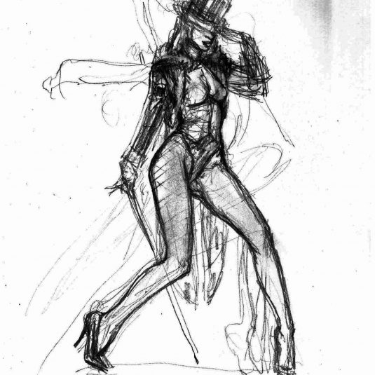 zatanna burlesque sketch mark beachum original supergurlz
