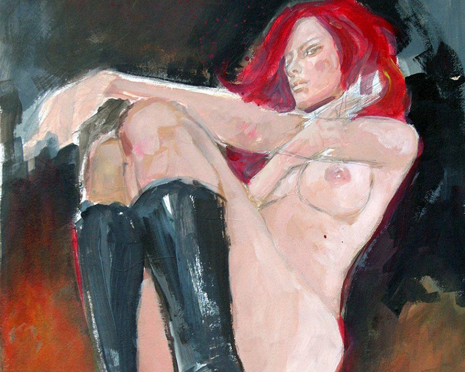 black widow nude scarlett johansson sexy spy assassin lethal beauty mark beachum supergurlz.net