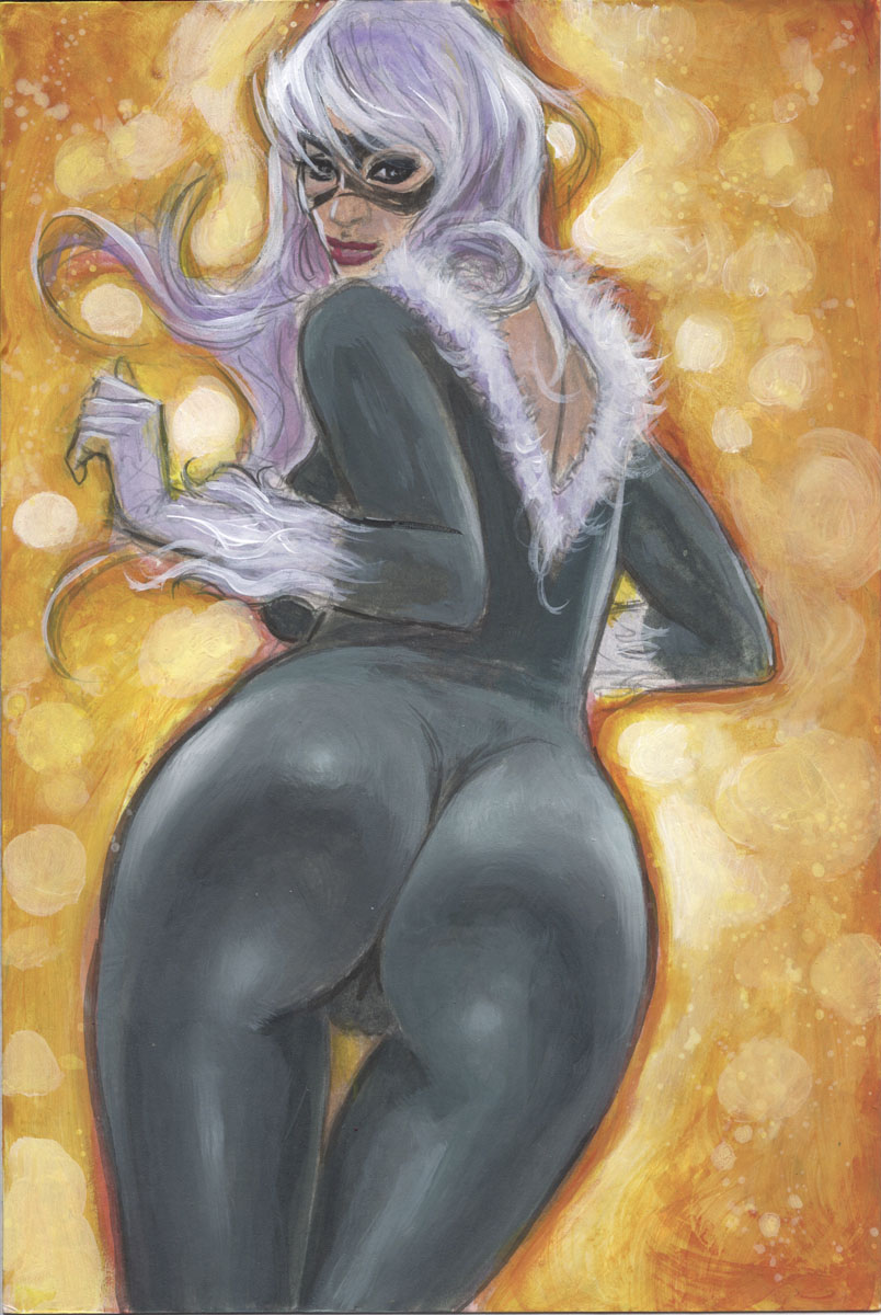 Black Cat Alluring Assets 1