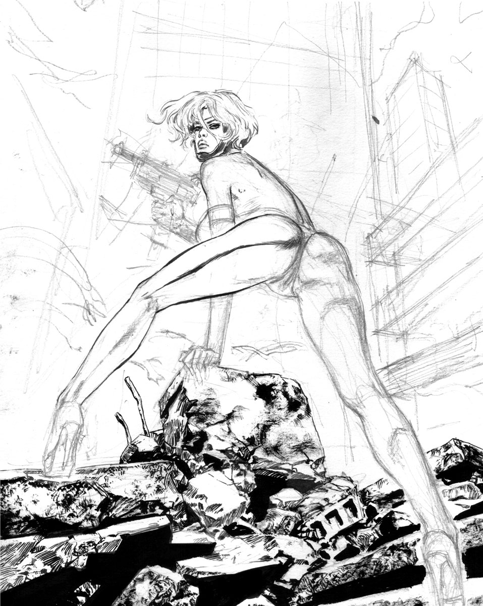 Sharon McCain superheroinecomixxx 1