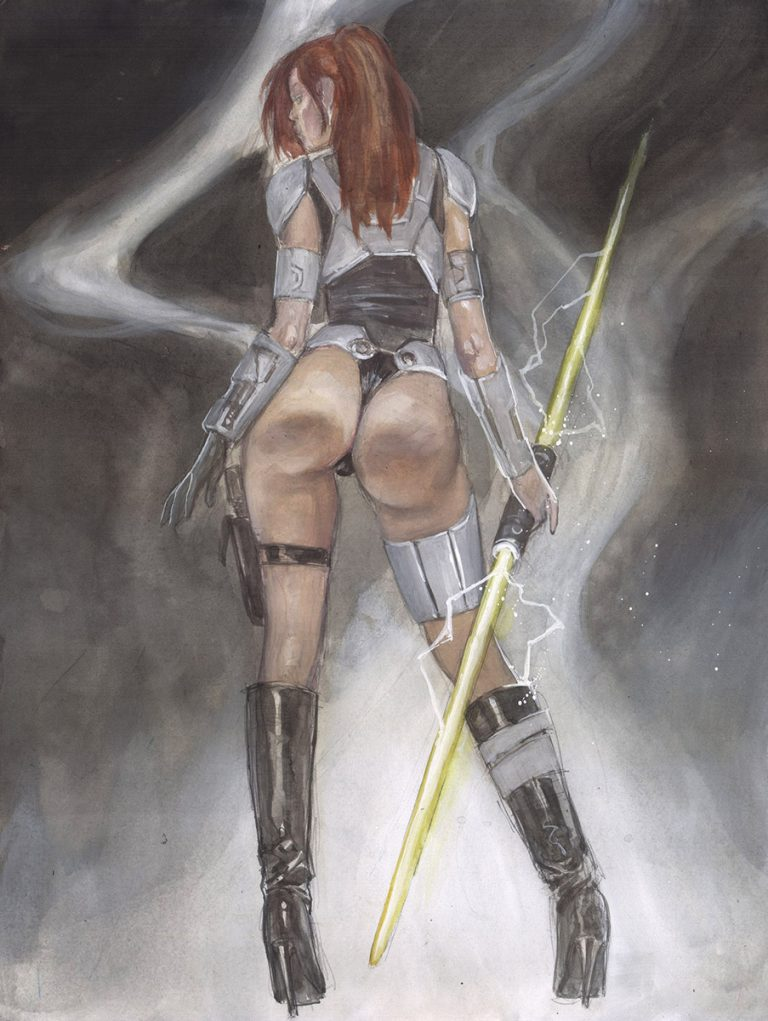 Sexy sith paintings