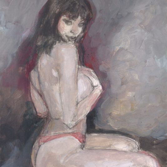 Classic Vampirella Cheesecake art adult comic illustration erotic art mark beachum supergurlz.net