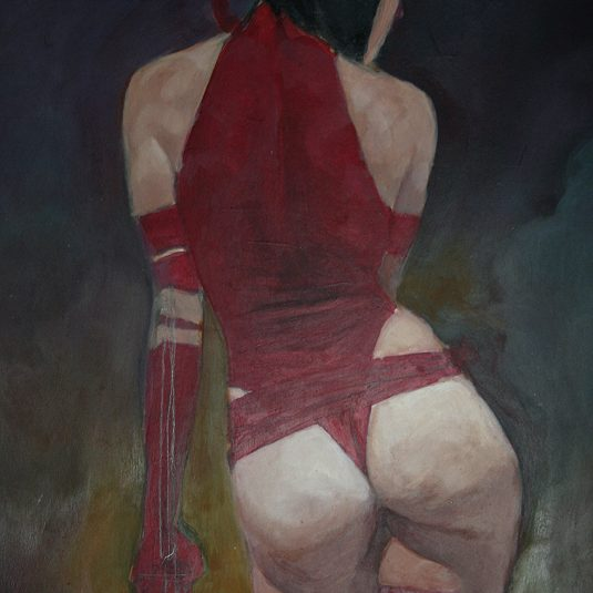 SEXY-ASSASSIN ELEKTRA ADULT EROTIC COMIC ART MARK BEACHUM SUPERGURLZ.NET