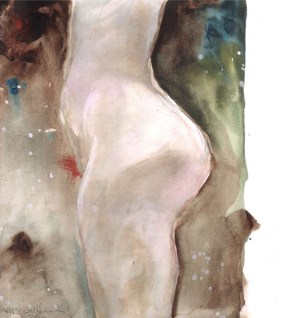 Nude Profile Study
