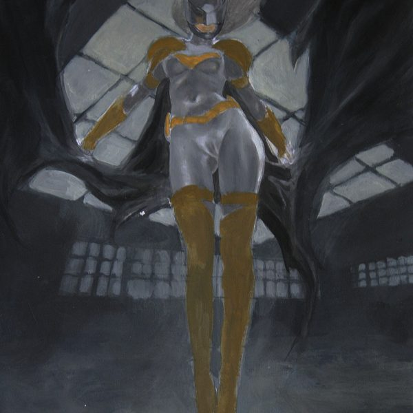 Batgirl: Cyberpunk Latex Warrior badass