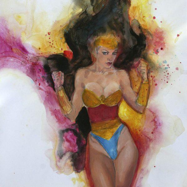 Wonder Woman: intense and stirring