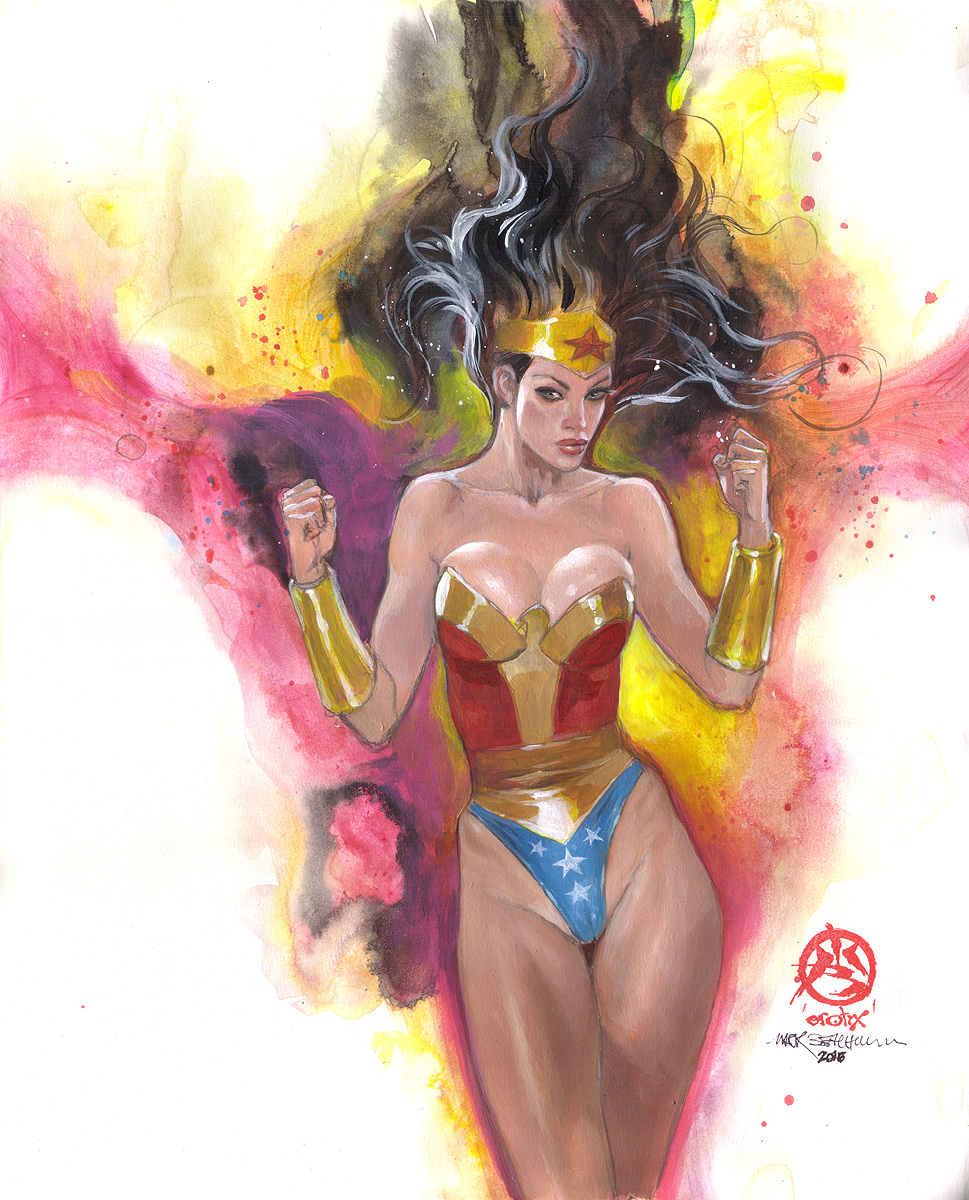 Wonder Woman: Dazzlegazm! 1