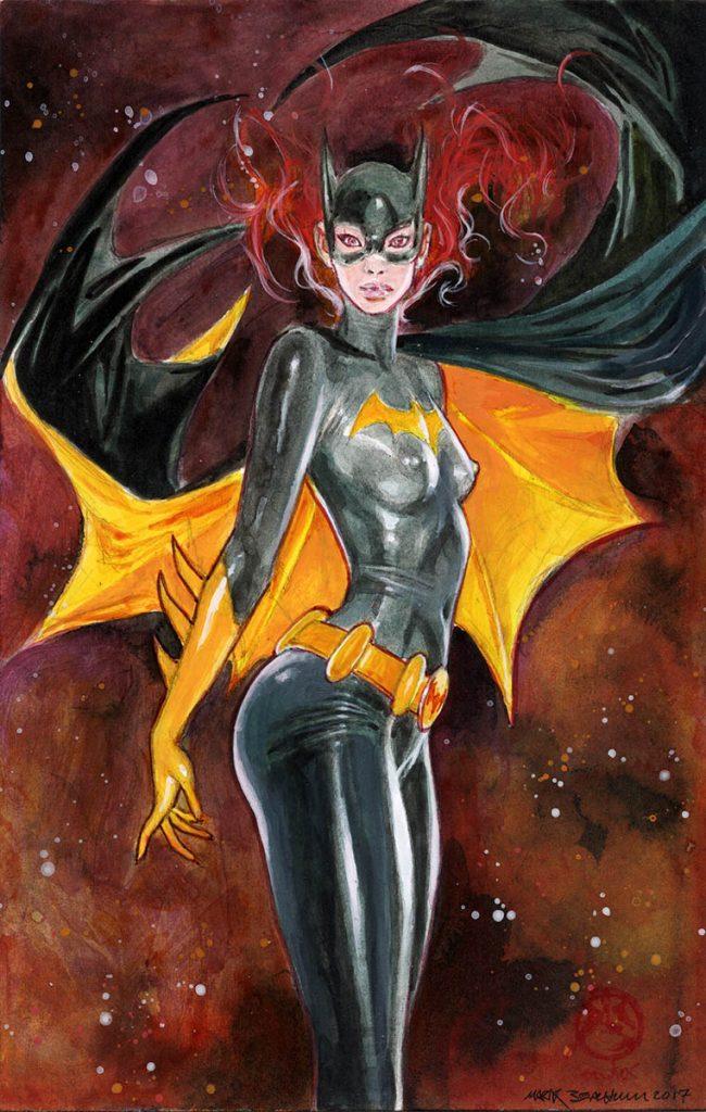 black latex.chaos all around batgirl saves the night