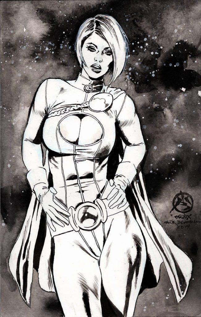 Graphic Powergirl