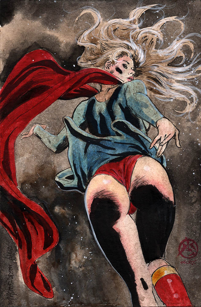 Supergirl + Batgirl