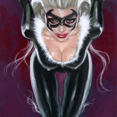 BLACK CAT sexy as she wanna be