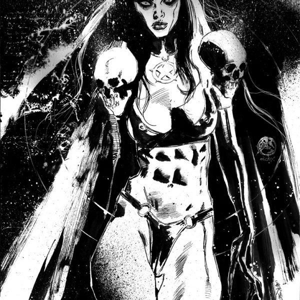 Occult Goddess Sexy Demonia