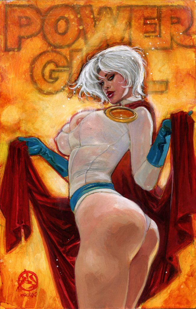 power girl: built 4 speed 1