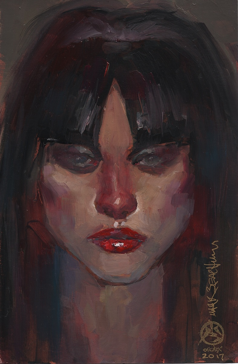 Exotic Vampirella Pin-up Portrait 1