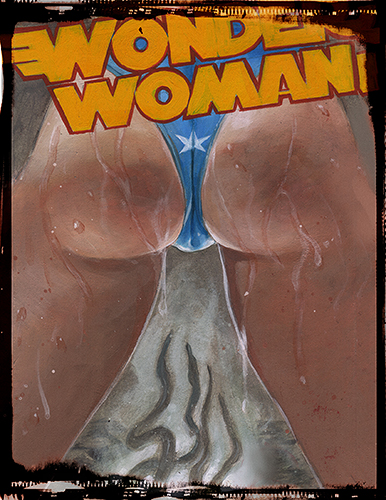Wonder Woman Hentai: Hand Embellished Print Set 1