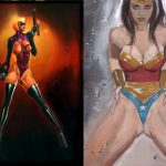 wonder woman powergirl backlash prints 2
