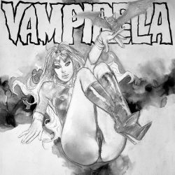 "VAMPIRELLA Jose ""pepe"" Gonzalez Tribute Recreation 2"