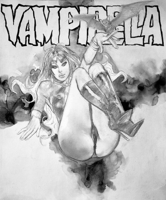 "VAMPIRELLA Jose ""pepe"" Gonzalez Tribute Recreation 1"