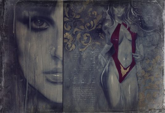 VAMPIRELLA Reflections in the Dark giclee 1
