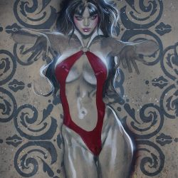VAMPIRELLA Dark Icon giclee 2