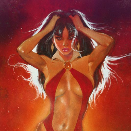 Vampirella limited edition print