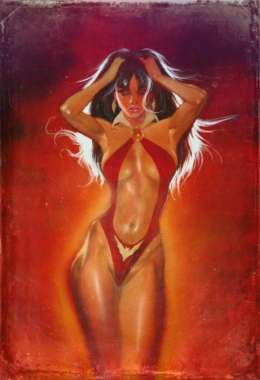 Vampirella limited edition print