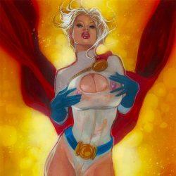 Powergirl: phantazmagasm: 10 x 13 Print 1