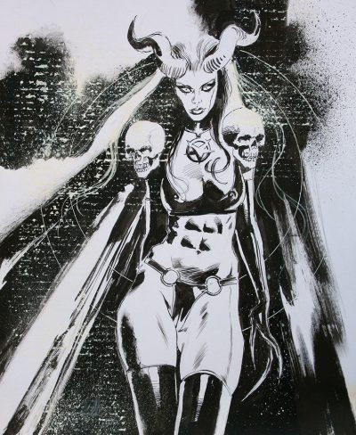 Vampirella Supergirl X-23 Original art on ebay 1