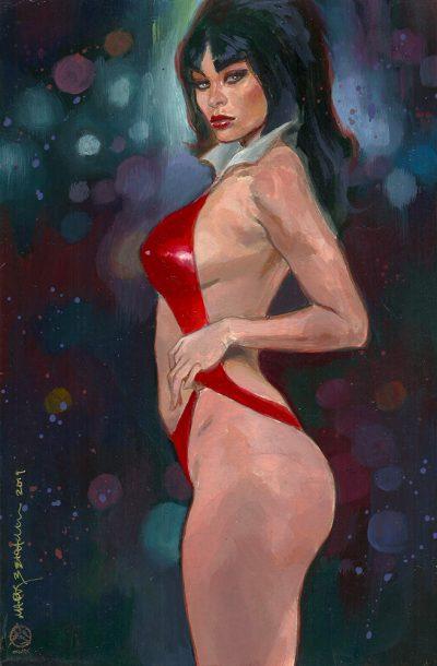 Vampirella Supergirl X-23 Original art on ebay 2