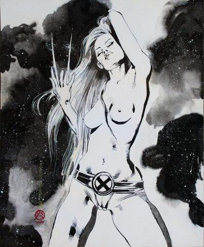 Vampirella Supergirl X-23 Original art on ebay 3