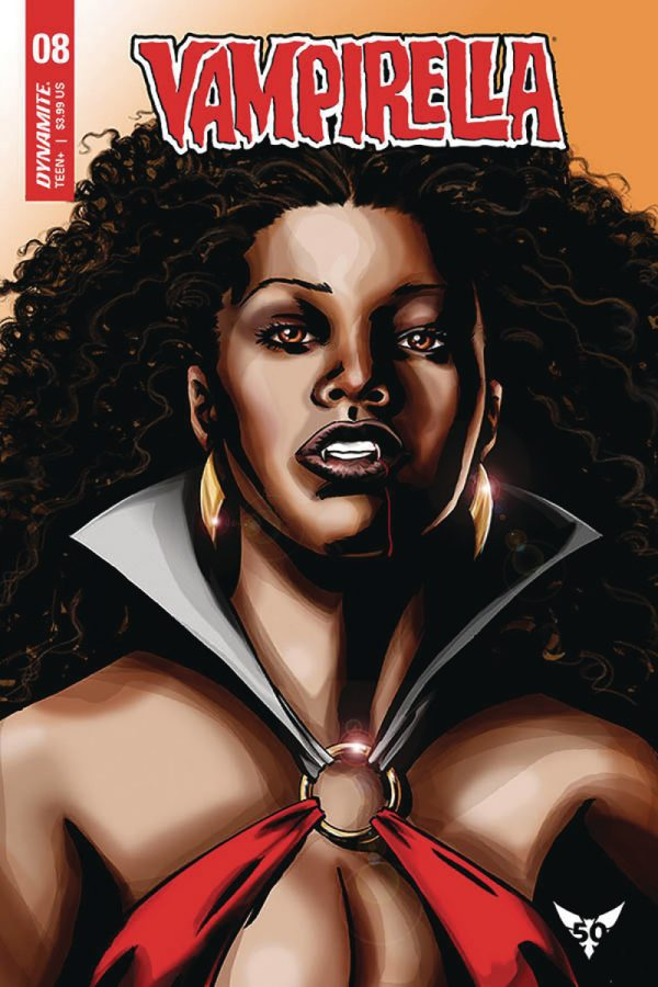 Mark Beachum turns up the heat with sexy alternate VAMPIRELLA cover for feb 2020 Black History Month 2